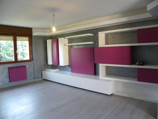 Soggiorno moderno con mobile bar mobilificio fratelli - Mobile soggiorno angolo ...